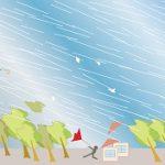 夢占いで嵐は災いの予兆!?雷や竜巻など6例